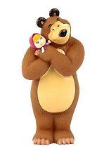 Masha and the Bear bath toys, Masha Russian cartoon, toy rubber 14 cm