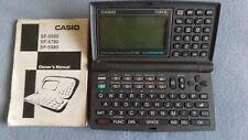 Casio SF-5580 Business Organizer Scheduling System 128KB Illuminator Calculator