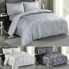 Duvet Cover King Size Bed set Silky Soft Polyester Bed Linen Inc 2 Pillow Cases