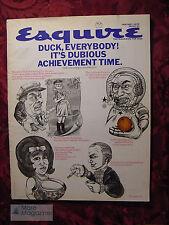 ESQUIRE Magazine January 1970 EVEL KNIEVEL PALM BEACH +