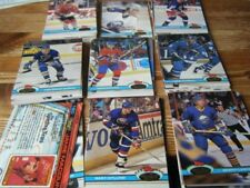 Topps Not Autographed Hockey Trading Cards