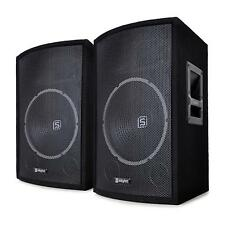 """Skytec SL12- Set di diffusori passivi 12"""" woofer da 200W / 300Wmax 2 vie bass re"""
