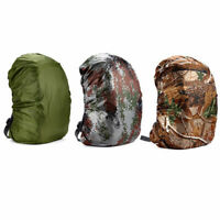 Waterproof Camo Dust Rain Cover Travel Hiking Backpack Camping Rucksack Bag C