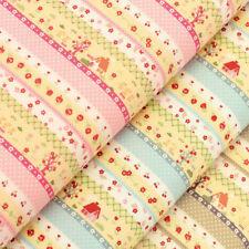 Unbranded Home & Garden 100% Cotton Craft Fabrics