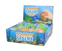 SQUISHY SEALIFE TOY - NV294 STRESS RELIEF TOY SQUEEZE THROW FIDGET DISTRACTION
