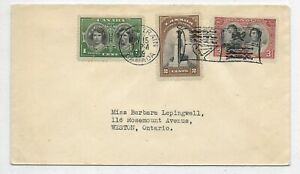First Day Cover / Royal Train RV-1 Scott/Unitrade #'s 246-249 Issue May 15, 1939