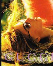 Publicité advertising 2004 Les Lunettes de soleil Gucci