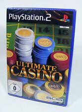 ULTIMATE CASINO für PlayStation 2 NEU in Folie Sony PS2 Spiel kasino