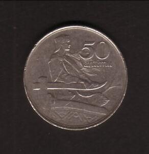 Latvia--1922--50 Santimu Coin