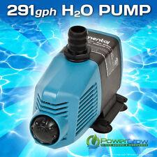 Water Pump 291 gph Elemental H2O - Aquarium Hydroponics Aquaponics Pond