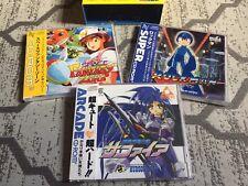 Sealed PC Engine Rockman, Ginga Fukei Densetsu Sapphire, Space Fantasy Zone