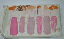 sewing pattern skirt in 6 stylesstraight