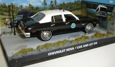 007 JAMES BOND LIVE AND LET DIE CHEVROLET BEL AIR POLICE CAR 1/43 Die-Cast Car.