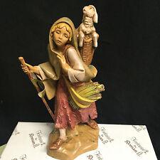 MIRIAM # 52872 Sculptor Elio Simonetti  FONTANINI 7.5 INCH NATIVITY SERIES