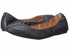 Women's Shoes Wanted Arion Elastic Casual Stitched Ballet Flats Navy *New*