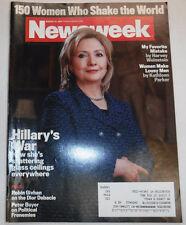 Newsweek Magazine Hillary Clinton March 14, 2011 101816R2