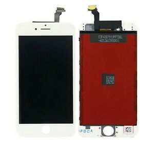 PER APPLE TOUCH SCREEN IPHONE 6 LCD DISPLAY RETINA FRAME VETRO SCHERMO BIANCO