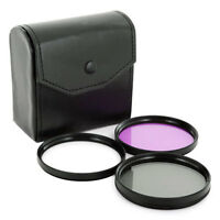 52mm 4 in1 Lens UV/FLD/CPL Filter Kit w/ Filter Pouch, 4IN1 FILTER KIT
