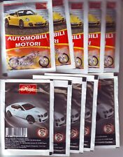 10 SEALED UNOPENED PACKS CARS AND MOTORCYCLES