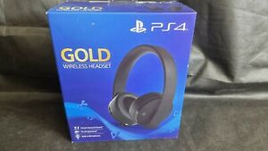 SONY Playstation PS4 Gold Wireless Headset 7.1 NEW SEALED