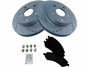 For 2006-2010 Dodge Ram 1500 Brake Pad and Rotor Kit Front 25774NQ 2007 2008
