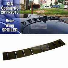 Vortex Generator Rear Glass Wing Black Spoiler 1ea for KIA 2011-2013 Optima K5
