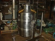 New listing 55 gallon 317L Sanitary Stainless Steel Portable Tank