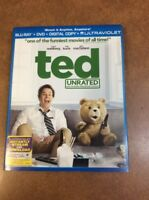 Ted Unrated Blu Ray