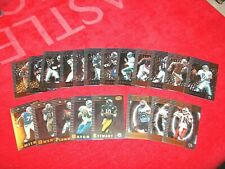 1999 LEAF CERTIFIED FOOTBALL 20 DIFF TWO THREE FOUR STAR SHORT PRINTS (18-71)