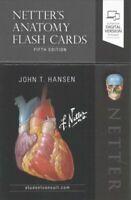 Netter's Anatomy Flash Cards by John T. Hansen 9780323530507 | Brand New