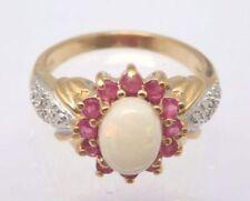 Anelli di lusso con gemme naturali bianchi diamante