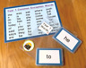 45 Year 1 Common Exception Words Flash Cards Word Mat KS1 Learning Resource