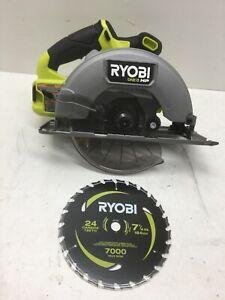 Ryobi ONE+ PBLCS300B HP 18V Brushless Cordless 7-1/4in. Circular Saw N M