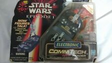Star Wars Episode 1 Electronic Comm Tech Chip Reader New on Card 1998 EP1 Hasbro