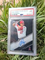2020 Topps Chrome Black Mike Trout Autograph PSA 9 PSA population of 2!