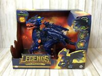 Untamed Legends Dragon Vulcan Interactive Blue Toy Lights Sound Glows New