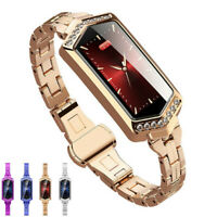 Women Smart Watch Heart Rate Sports Fitness Tracker Phone Mate For iOS Android