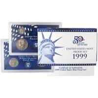 1999 S U.S. Mint Proof Set