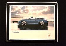 "Porsche Poster ""911 Carrera 4 Cabriolet"""