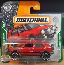 Matchbox 2018 -  '90 VW Golf Country  *12 CARS POSTED FOR $10*