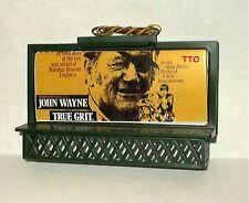 HO SCALE LIGHTED BILLBOARD JOHN WAYNE TRUE GRIT  NEW