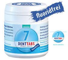 "Denttabs 125  ohne Fluorid- fluoridfrei- Zahnputztabletten  -  ""Stevia Mint"""