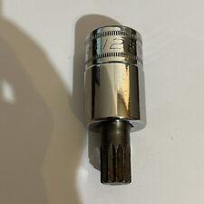 Snap On 1/2 Drive 14mm Triple Square Socket