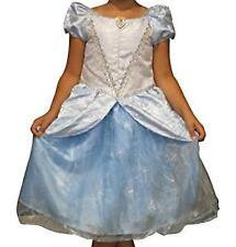 Cinderella Disney Parks Princess Dress Costume Girls Size 7/8 Blue Ball Gown M