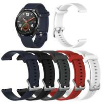 SiliconeWatch Band Strap Bracelet for Huawei Watch GT 2 Honor Watch Magic JF#E
