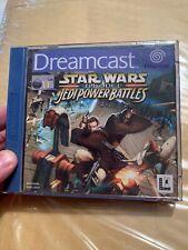 STAR WARS JEDI POWER BATTLES  SEGA DREAMCAST  PAL - Complete - Tested Retro