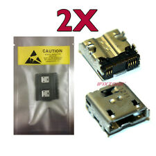 2 X New Micro USB Charging Sync Port For Sprint HTC EVO View Wi-Fi 4G Tablet USA