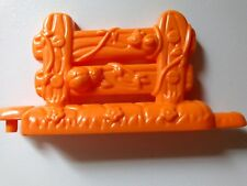 Fisher Price Little People Orange Fence Section House Farm