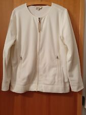 Veste polaire Aigle jacket taille 44 (FR) blanc cassé polyester