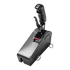 B&M 81059 Stealth Magnum Grip Pro Stick Gated Shifter with Carbon Fiber Cover